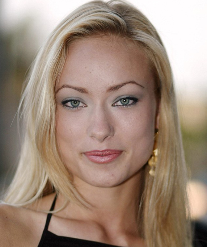 Olivia Wilde Natural Hair Colour Blonde
