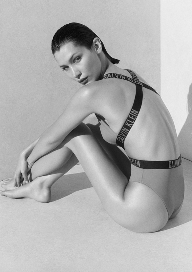 Fashion buzz: Bella Hadid stuns in the new Calvin Klein swimwear campaign, Valentino x Onitsuka Tiger is launching soon, and more (фото 2)