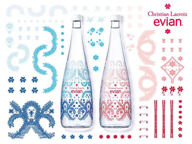 Designer bottle evian x christian lacroix buro 24 7 - Evian christian lacroix ...