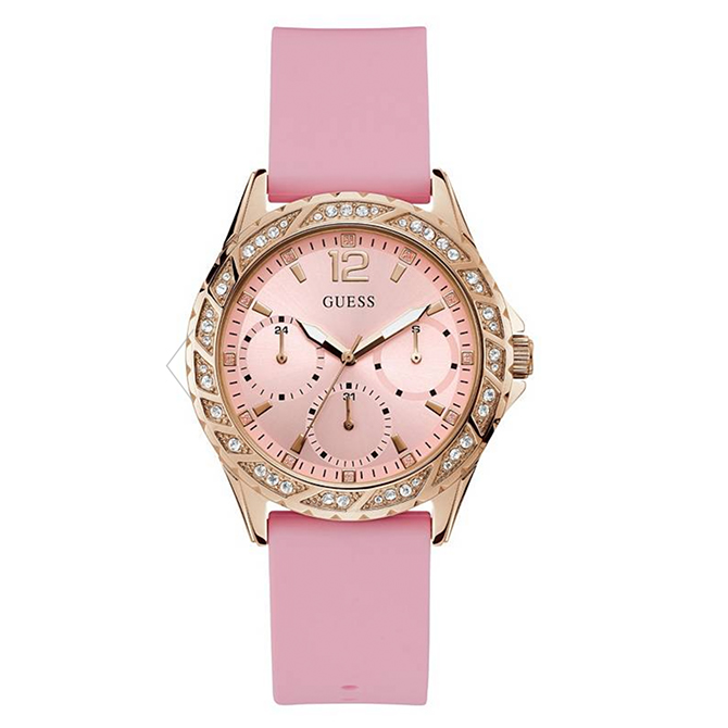 Guess watch Breast Cancer Awareness month 2019