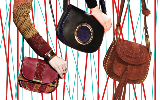 Top 10 bag trends spotted on the AW15 runways