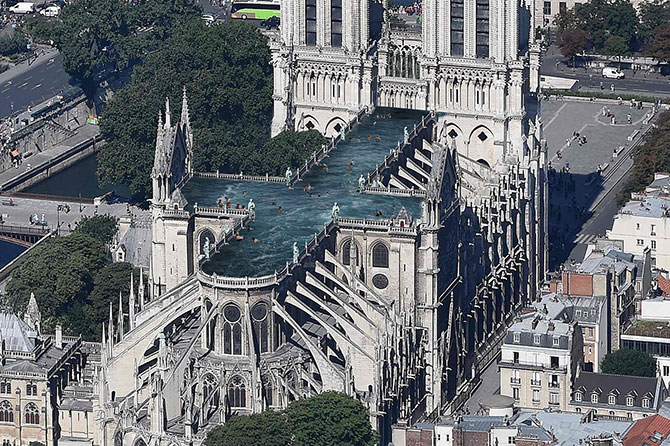 What the Notre-Dame could look like in five years (фото 7)
