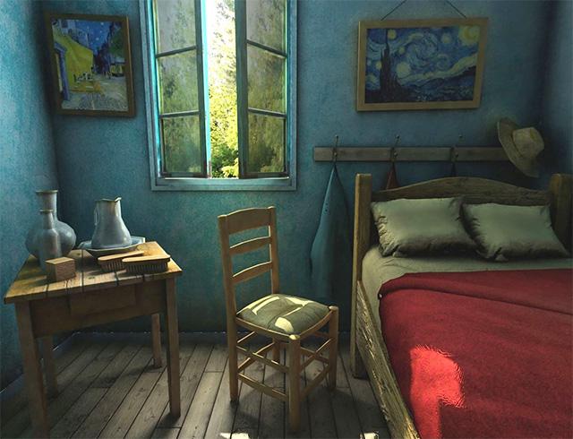 Take a virtual step into Van Gogh\'s \'The Bedroom\', Buro 24/7