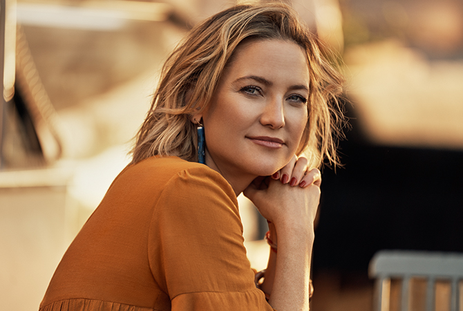 Kate Hudson portrait in Dubai