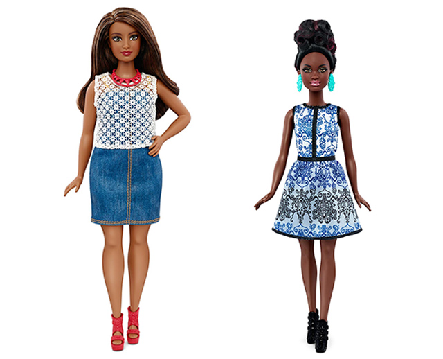 Barbie gets a makeover, and it's three new body types (фото 2)