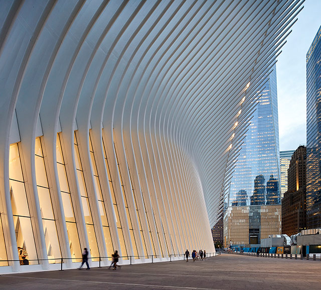 A look at the World Trade Center Oculus in photos