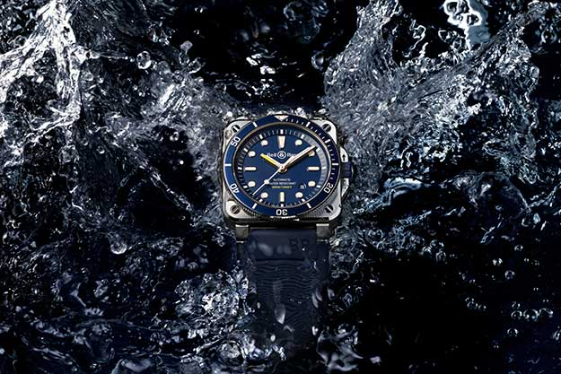 The Bell & Ross BR 03-92 Diver is made for venturing into the deep blue (фото 2)