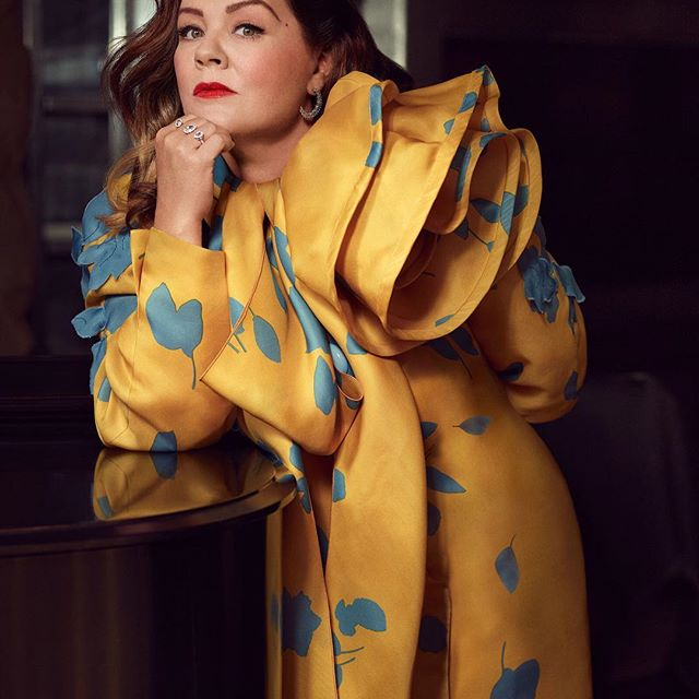 @MelissaMcCarthy wearing Marc Jacobs Spring  19 for @InstyleMagazine   #MJSS19 Photographed by @robbiefimmano Styled by @juliavonboehm #InStyleBadassWomen
