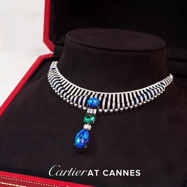A closer look at the new #CartierHighJewelry collection. Debuting exclusively on the red carpet of the Cannes Film Festival opening ceremony tonight. #CartierMagnitude #cannes2019