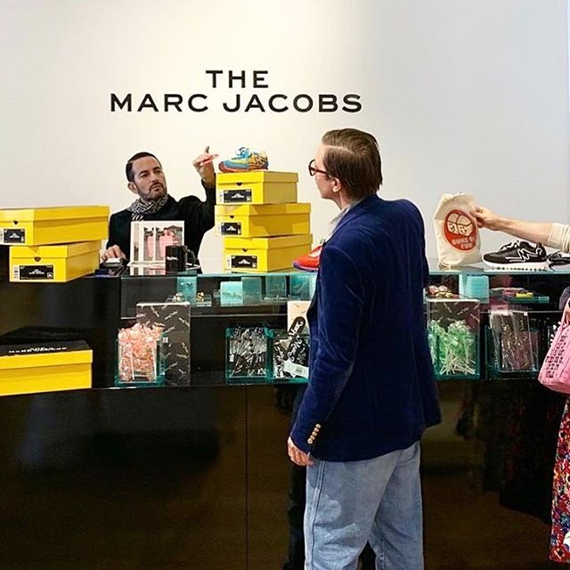 #THEMARCJACOBS has arrived in Soho, New York!   Come stop by our new pop-up at 59 Greene Street and explore THE items we love   curated by history, remade for THE present.     regram: @themarcjacobs