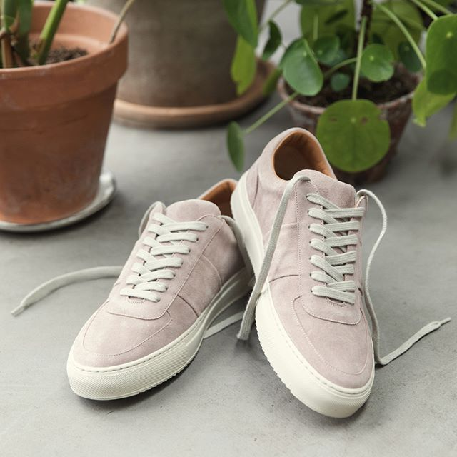 Next pair? Make it pink. You'll be happy as Larry.   -  The new @mrp Larry Suede Sneakers (1109704)  Tap to shop or head to the link in bio. #MrPmyway