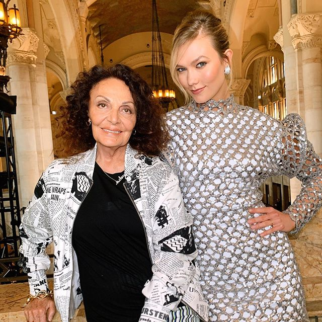 TONIGHT! Catch @therealdvf on the season finale of @projectrunwaybravo
