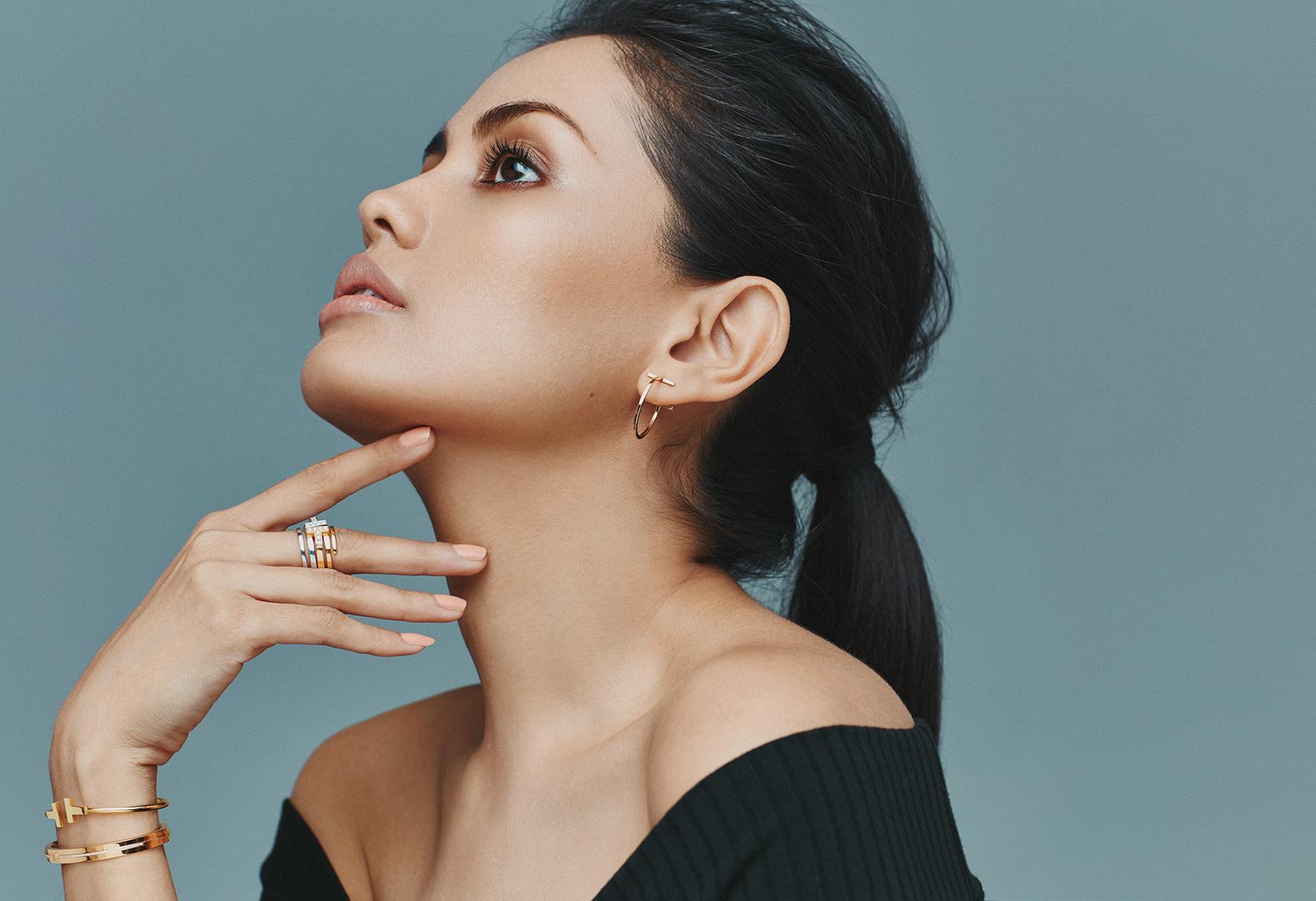 Tiffany t wire earrings