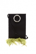 Feather-trimmed leather cross-body bag, £1,395 (approx. RM7,512) at Matchesfashion.com