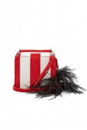 Feather strap cross-body bag, £458 (approx. RM2,464), Marques'Almeida at Matchesfashion.com