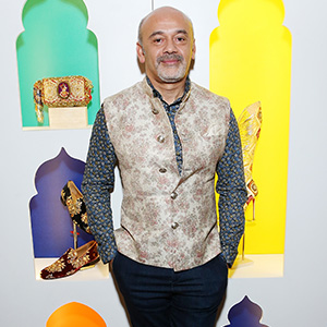 Christian Louboutin talks his signature red soles, and making shoe fantasies come true