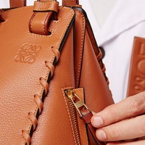 Loewe showcases its leather expertise with statement-making stitches