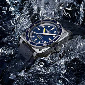 The Bell & Ross BR03-92 Diver is made for venturing into the deep blue