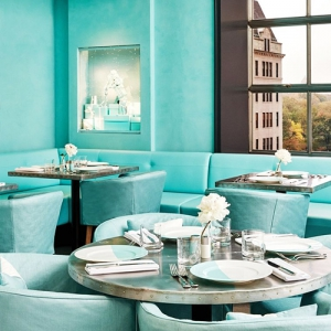Tiffany & Co opens a Blue Box Cafe in New York