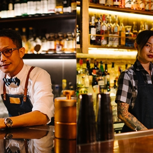 Mixologists Angel Ng and Andrew Tan set to stir up a storm at H-Artistry