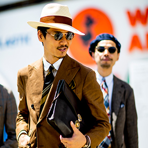 Pitti Uomo 94's street style guide to wearing hats
