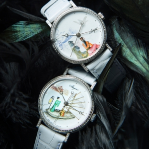 Breguet's exclusive enamel pieces feature animals from the Chinese zodiac