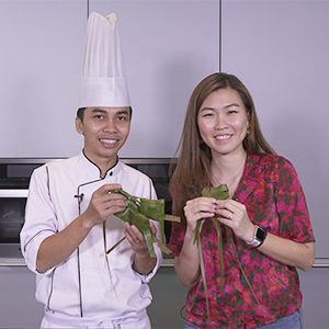 WATCH NOW: How to weave a ketupat (without looking)