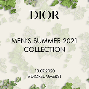 Watch the Dior Men's Spring/Summer 2021 livestream here