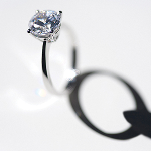 How to clean and care for your diamond ring at home