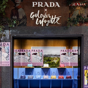 A Prada takeover at Galeries Lafayette Paris