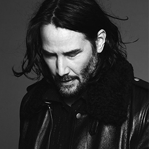 Meet the new face of Saint Laurent—Keanu Reeves