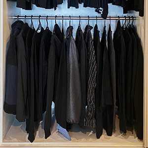 Team Buro Answers: What's our one closet-organising tip?