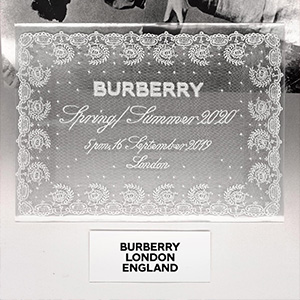 Watch the Burberry SS20 livestream here