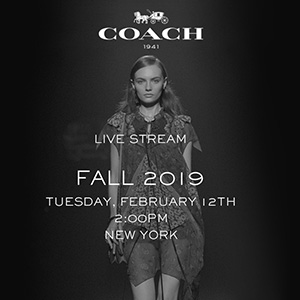 Watch the Coach AW19 livestream here