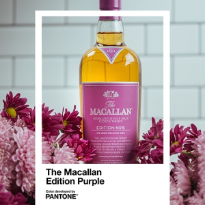 The Macallan Edition No. 5: A tale of the unique single malt whisky and the colour purple