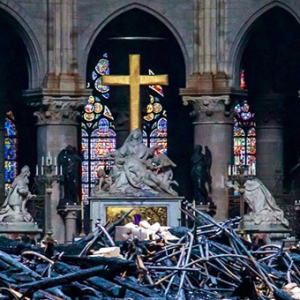 Notre-Dame fire aftermath — what's left?