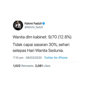 20 Best Twitter reactions to Muhyiddin's new Cabinet of Malaysia