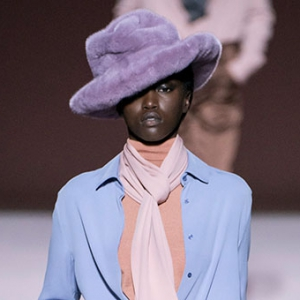 Accessory of the day: Tom Ford's AW19 faux-fur fedoras