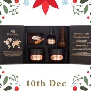 Beauty Advent Calendar: The Body Shop Spa of the World