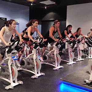 #FitnessFriday: Team takes flight at Flycycle