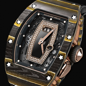 Richard Mille and NTPT introduces gold with composite materials in two timepieces