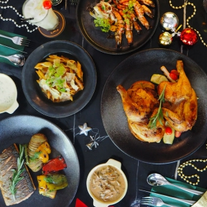 The Christmas menu at Define:Food is both joyful and flavourful