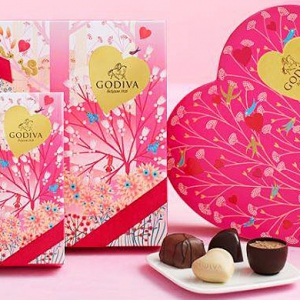 Godiva's limited edition Valentine's Day chocolates are a perfect gift