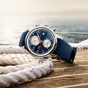 Take on summer with IWC's Portugieser Yacht Club Chronograph on your wrist