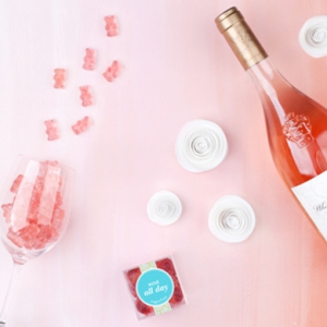 Rosé-flavoured gummy bears are a sweet treat for summer