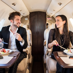 The perils of inflight dining