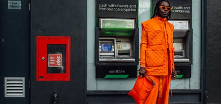 Orange is the new black: All the eye-catching street style at London Men's Fashion Week AW20