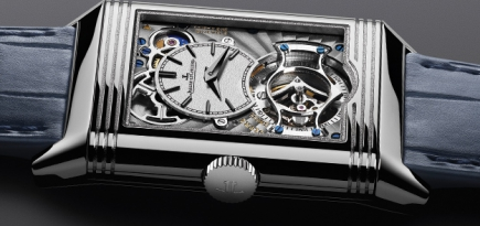 Jaeger-LeCoultre's Reverso Tribute Tourbillon Duoface is a complex two-in-one watch