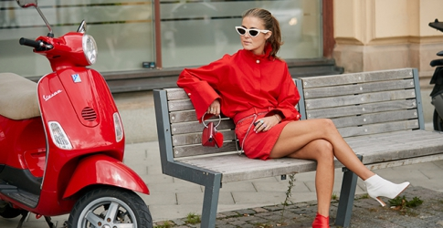 The street style guide to wearing red-on-red this Chinese New Year