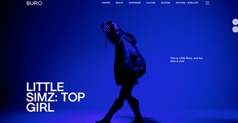 Buro. London is now live and their first cover star is rising rap superstar Little Simz